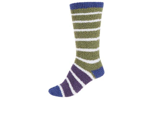 Fialovo-zelené dámské teplé ponožky Braintree Willoemi