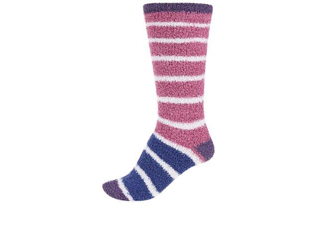 Modro-růžové dámské teplé ponožky Braintree Willoemi