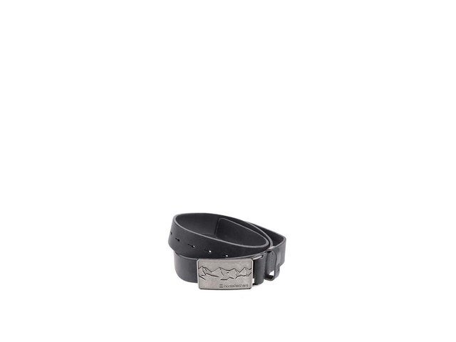 Tmavě šedý pánský kožený pásek Horsefeathers Vince