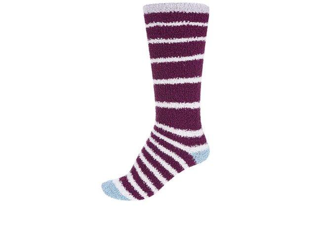 Fialové dámské teplé ponožky Braintree Bangora