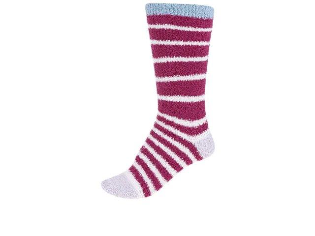 Fuchsiové dámské teplé ponožky Braintree Bangora