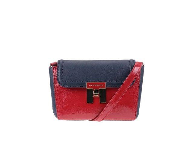 Modro-červená menší kabelka přes rameno Tommy Hilfiger Lock  7d4686e4d73