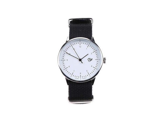 Černé unisex hodinky Cheapo Harold Black