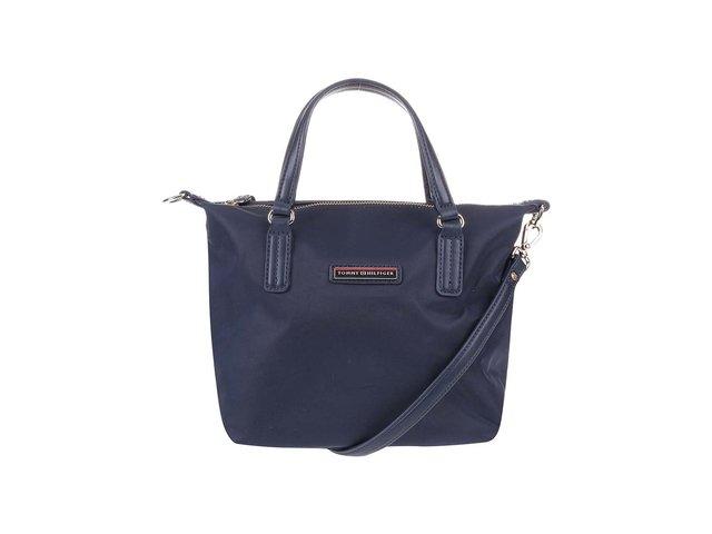 Tmavě modrá menší kabelka Tommy Hilfiger Poppy