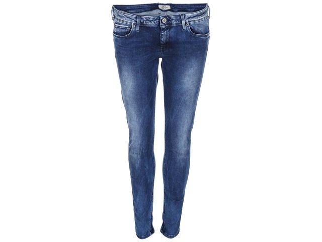 Tmavě modré dámské džíny s nízkým pasem Pepe Jeans Cher