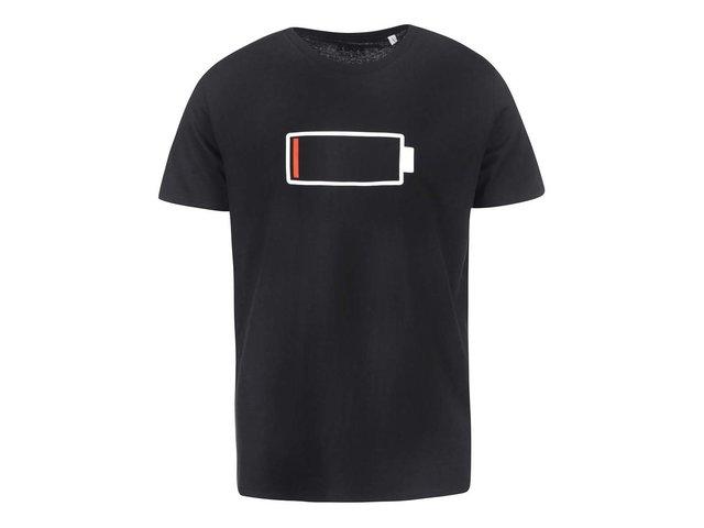 Černé pánské triko ZOOT Originál Baterie
