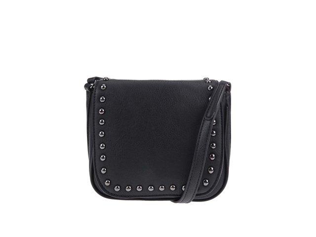 Černá malá kabelka se cvočky ALDO Load