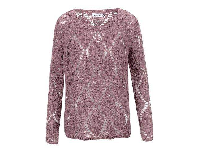 Růžový svetr ONLY Amada