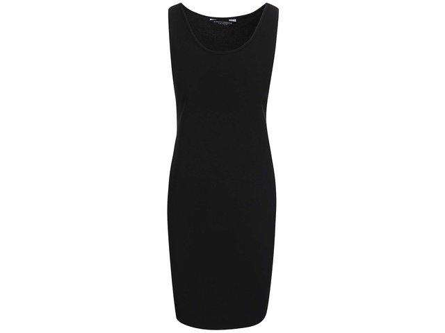 Černé strečové šaty bez rukávů Dorothy Perkins