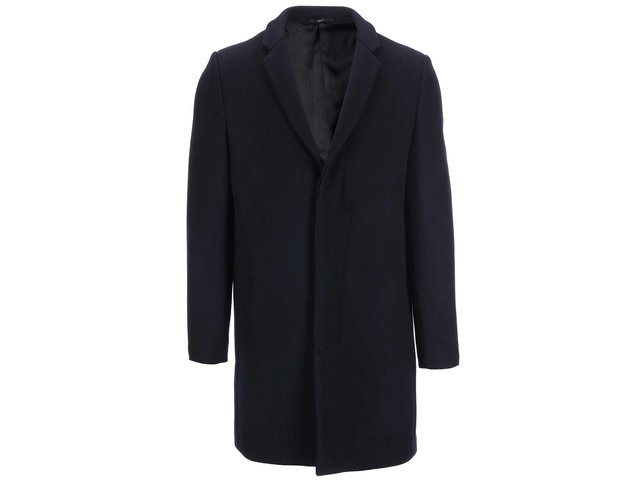 Tmavě modrý kabát Selected Brook