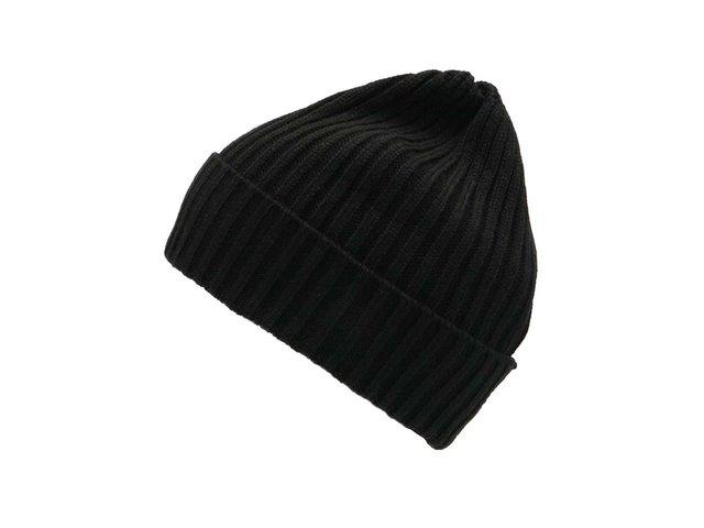 Černá čepice Selected Jules