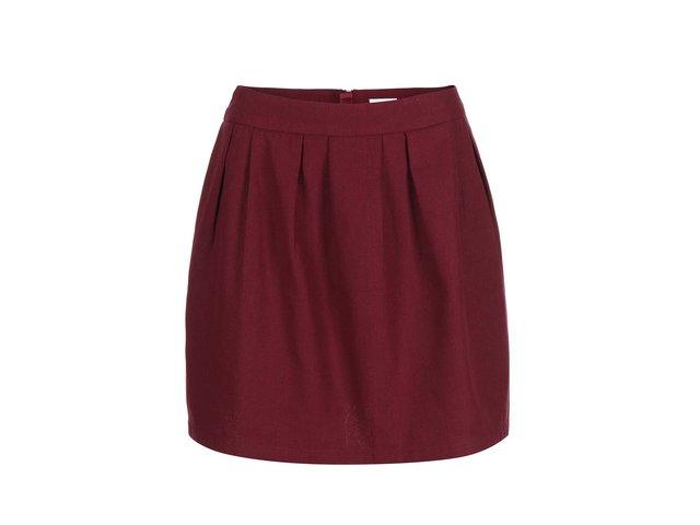 Vínová sukně ONLY Siesta