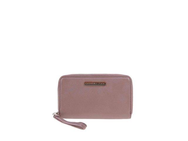 Tmavě růžová dámská peněženka Tommy Hilfiger Jacqueline