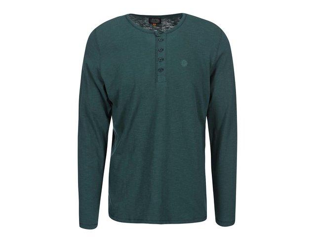 Zelené triko s dlouhým rukávem Blend