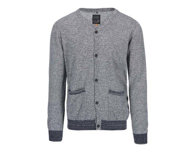 Modro-šedý cardigan Blend