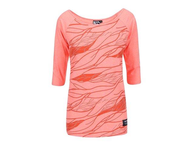 Korálové dámské tričko s potiskem Funstorm Vinsa