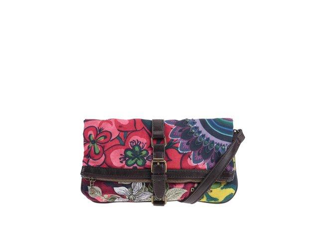 Barevná menší kabelka Desigual Melbourne Strwberry