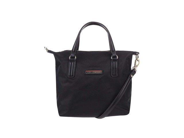 Černá menší kabelka Tommy Hilfiger Poppy