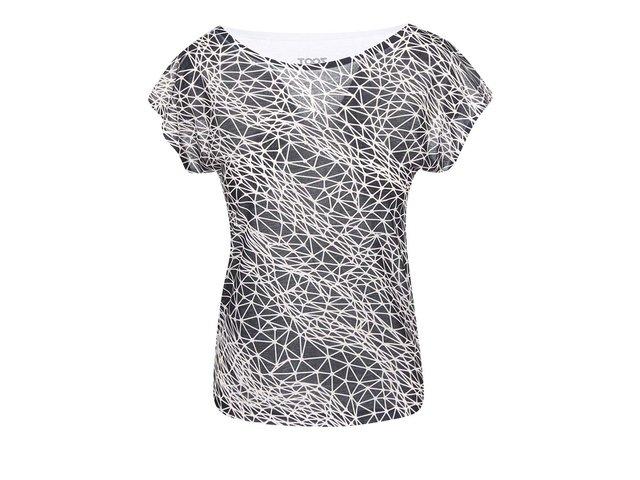 Černo-bílé dámské tričko ZOOT Originál Síť