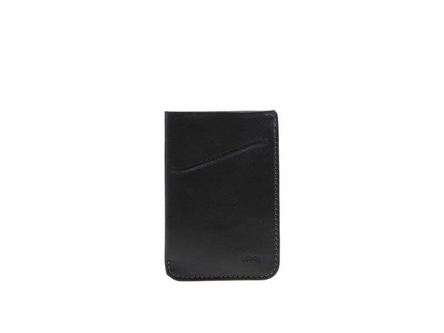 Černé kožené pouzdro na karty Bellroy Card Sleeve