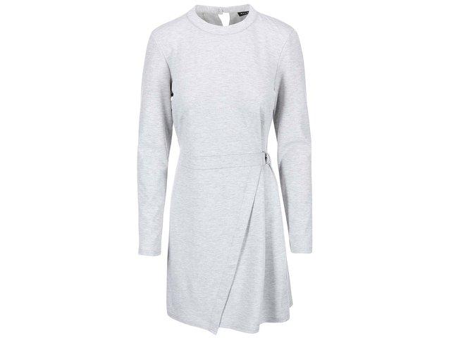 Šedé šaty VILA Dara