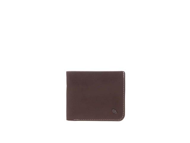 Hnědá kožená peněženka Bellroy Hide & Seek