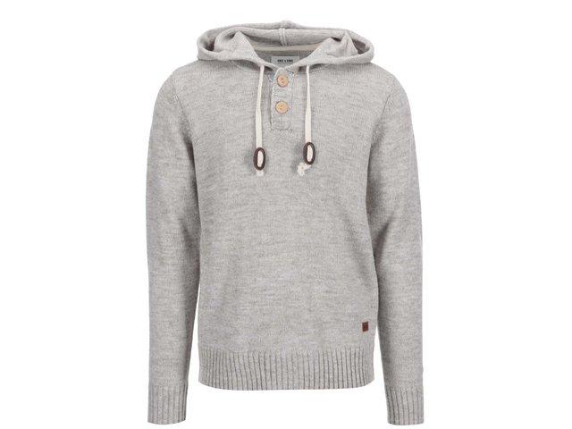 Béžový svetr s kapucí ONLY & SONS Brayden