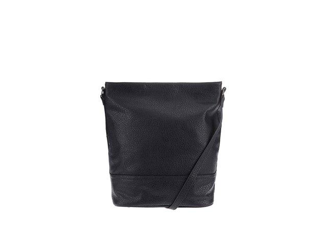 Černá kabelka přes rameno Pieces Ron