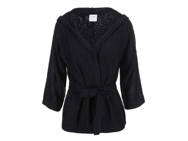 Černý cardigan s kapucí Vero Moda Kamala