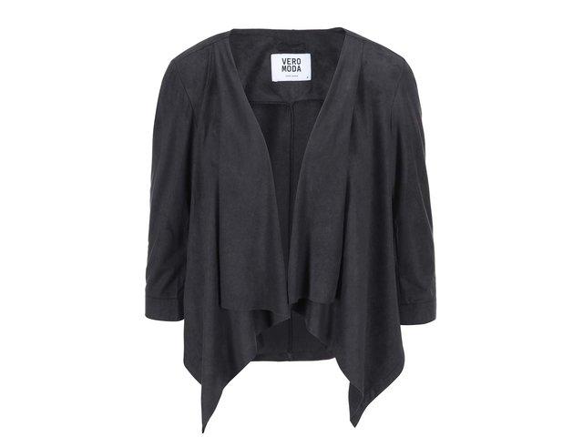 Černý blejzr 3/4 rukávy Vero Moda Kerry