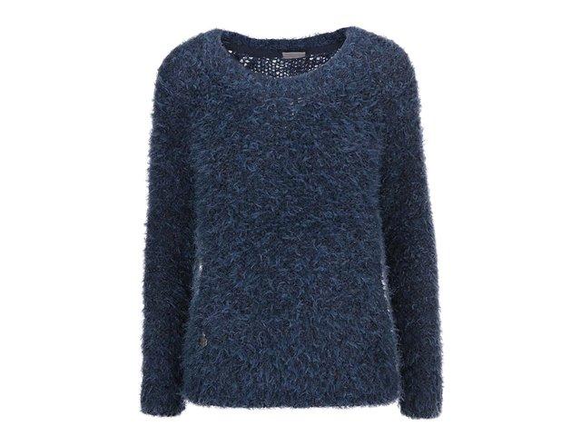 Tmavě modrý svetr Vero Moda Elsie