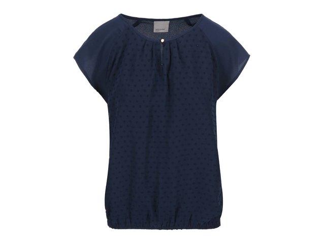 Tmavě modrý volnější top Moda Dorisa