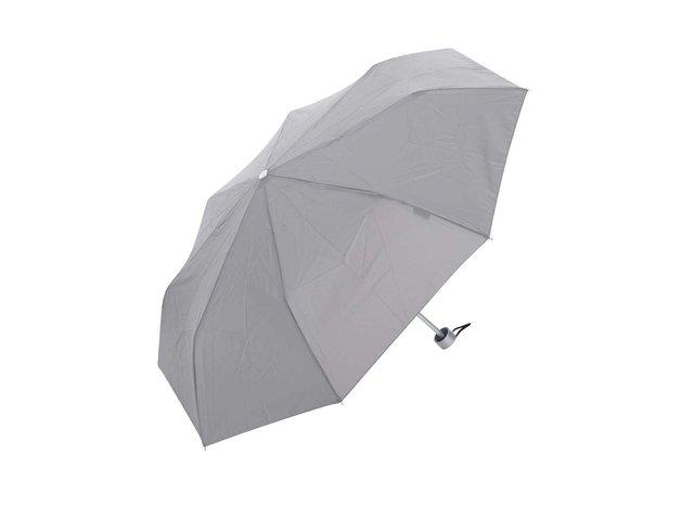 Šedý skládací deštník Derby