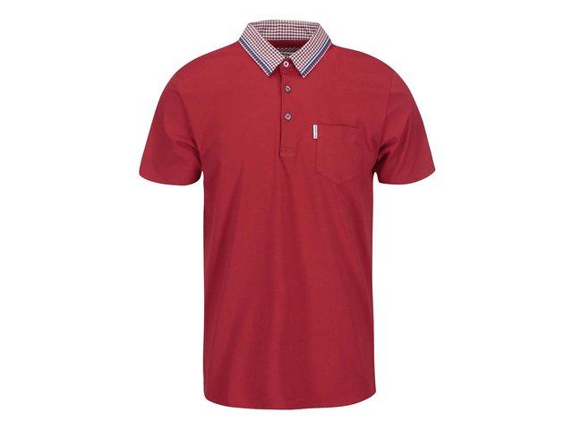 Červené polo triko s náprsní kapsou Ben Sherman