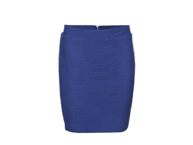 Modrá sukně se zipem ONLY Corrine