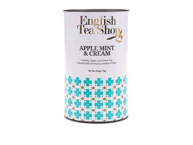 Dárkové balení čaje v dóze English Tea Shop Jablko, máta a smetana