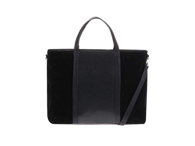 Černá velká kabelka Pieces Rossella