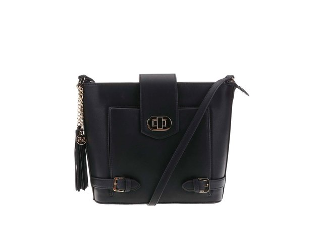 Černá menší kabelka DSUK