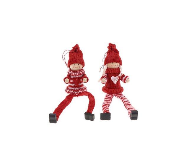 Set dvou červených postaviček Sass & Belle Pixie Boy & Girl