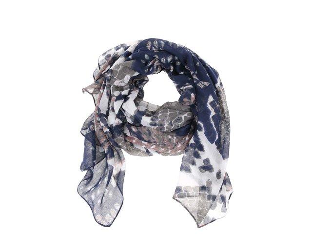 Barevný šátek s hadím vzorem Pieces Veze