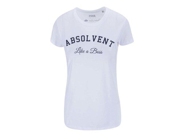 Bílé dámské tričko ZOOT Lokál Absolvent
