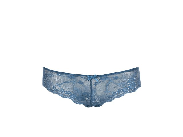 Modré krajkové kalhotky Haily´s Lace