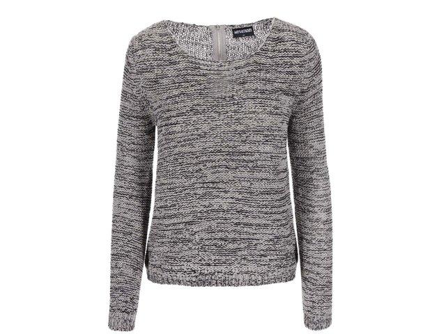Šedý žíhaný svetr Haily´s Jen