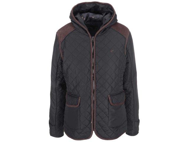 Khaki dámská bunda s kapucí Brave Soul Major