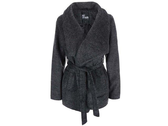 Šedý kratší kabát Haily´s Liliane