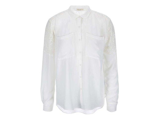 Krémová dámská košile Brave Soul Krystalr