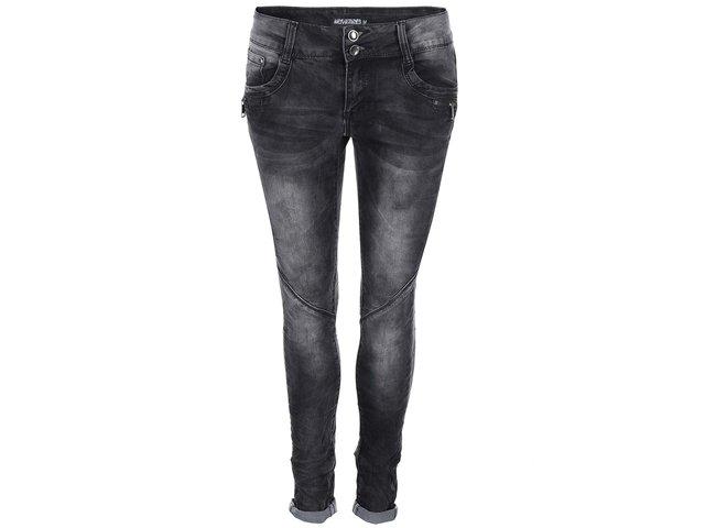 Tmavě šedé džíny Haily´s Ruby
