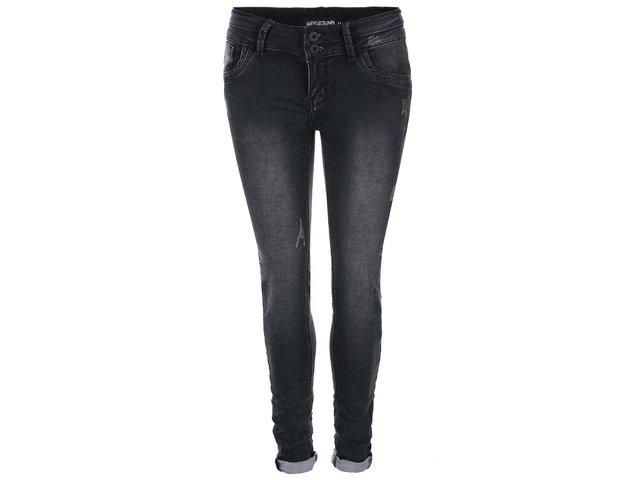 Tmavě šedé džíny Haily´s Clara