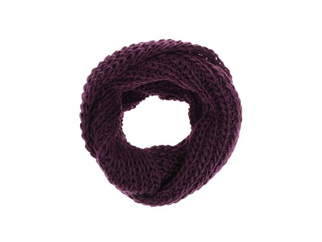 Fialová dutá šála Haily´s Strick