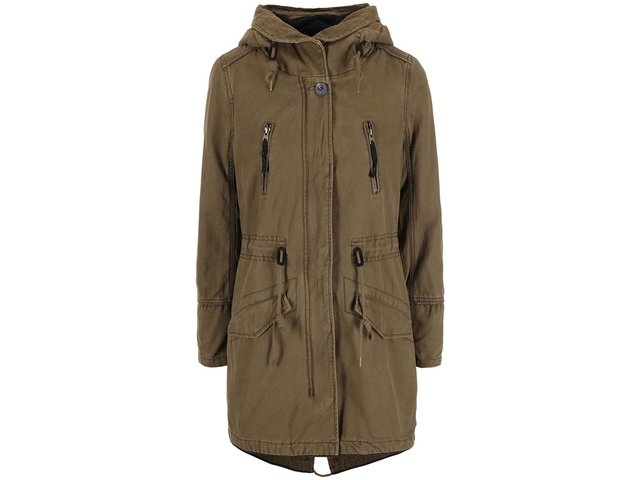 Khaki parka ONLY Central